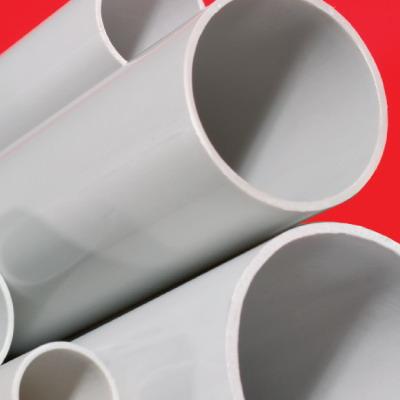 Труба ПВХ жёсткая гладкая д.50мм, лёгкая, 3м, цвет серый DKC 63950 DKC