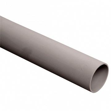 Труба ПВХ жёсткая гладкая д.50мм, лёгкая, 2м, цвет серый DKC 62950 DKC