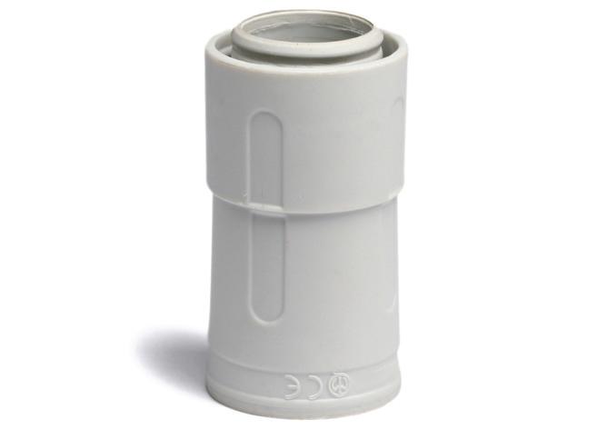 Переходник армированная труба - жесткая труба, IP67, д.40мм DKC 55240 DKC
