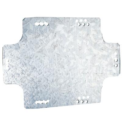 Монтажная пластина из оцинк. стали 212х162мм, для коробок 240х190мм DKC 59607 DKC