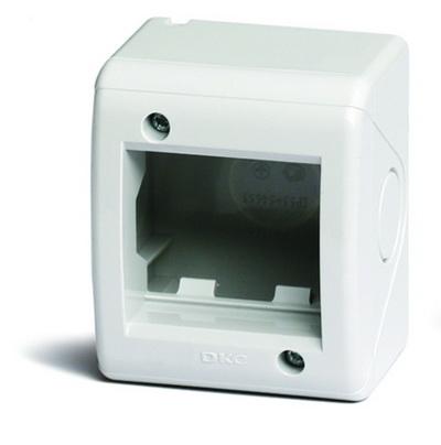 Модульная настен. коробка для эл/устан. изделий VIVA, IP40, серая, 2мод. DKC 54640 DKC