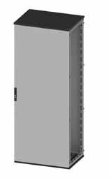 Сборный шкаф CQE, с дверью и задней панелью, 2200 x 800 x 500мм RAMblock DKC R5CQE2285 DKC