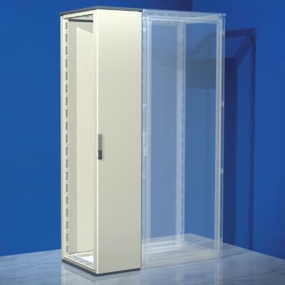 Сборный шкаф CQE, без двери и задней панели, 2200 x 300 x 400мм RAMblock DKC R5CQE2234S DKC