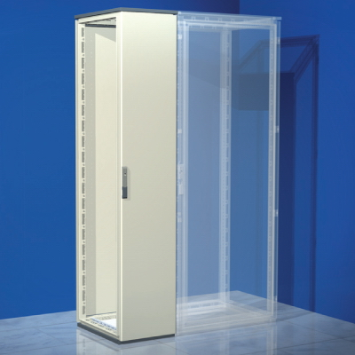 Сборный шкаф CQE, без двери и задней панели, 2200 x 300 x 500мм RAMblock DKC R5CQE2235S DKC