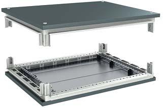 Комплект, крыша и основание, для шкафов CQE, 1000х1200 мм RAMblock DKC R5KTB1012 DKC