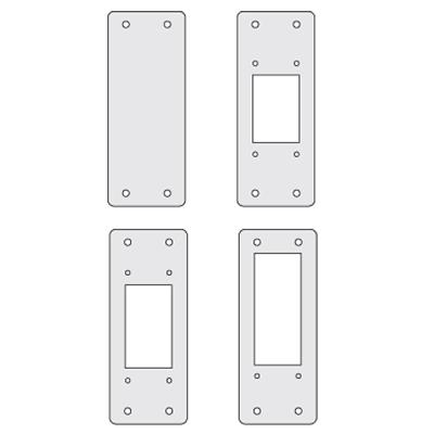 Заглушки для пром. панелей, переходник 24/16, 4шт. RAMblock DKC R5AD2416 DKC