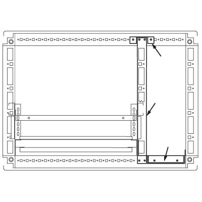 Комплект кабельного отсека, для шкафов CQE 1800 x 500мм RAMblock DKC R5PFI1850 DKC