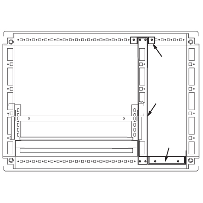 Комплект кабельного отсека, для шкафов CQE 1800 x 600мм RAMblock DKC R5PFI1860 DKC