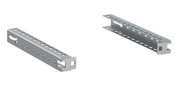 Направляющие, для горизонтальных разделителей, Г=95мм, 2шт. RAMblock DKC R5SOE095 DKC