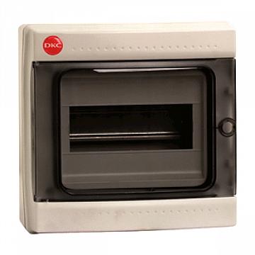 Щиток настен. с дверцей 8мод., IP65, серый RAMbase DKC 85608 DKC