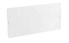 Сплошная панель на 18 модулей RAL9016 для встраиваемых щитков на 18, 36, 54, 72 модуля RAMbase DKC 87179 DKC
