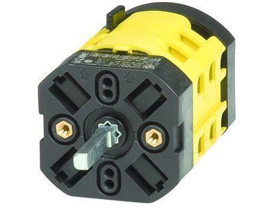 Переключатель кулачковый двухполюсный на три положения на 12 А Quadro DKC AS1209R DKC