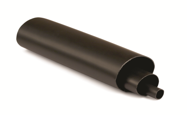 Термоусаживаемая cреднестенная трубка 22/6мм c клеевым составом Quadro DKC 2CRMA22 DKC