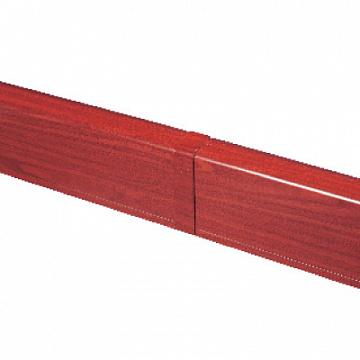 Накладка на стык для плинтусного короба 100х40 мм, ламинированное под дерево Angara DKC AIR10049B DKC