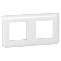 Рамка - Программа Mosaic - 2x2 модуля - горизонтальная - белая 078804 Legrand