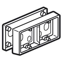Коробка монтажная - 2-местная - Программа Celiane - белый 080242 Legrand