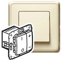 Светорегулятор нажимн 500Вт СЛНК CAR 773715 Legrand