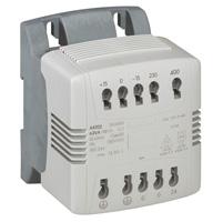 Трансформатор напряжения однофазный 230/400-24V 250Ва 044205 Legrand