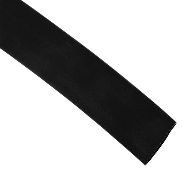 Термоусаживаемая трубка ТУТ 25/12.5 черная (режем)  Без производителя