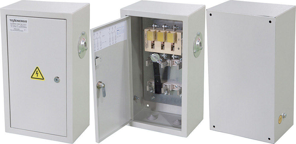 Ящик с рубильником ЯРП 100А ПН2 габарит 100А IP31 YRP-PN2-100-100-31 Texenergo