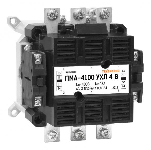 Пускатель электромагнитный ПМА 4100 380В 2з+2р PM1Z4022BQ Texenergo