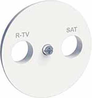 Накладк R-TV/SAT бел ODACE S52R441 Schneider Electric