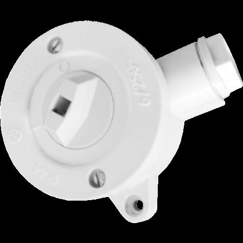 Выключатель о/у поворотный IP44 А16-001 Белоцерковское УПП УТОС