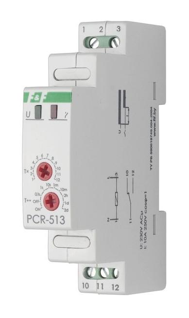 Реле времени с задержкой включения PCR-513 PCR-513 Евроавтоматика