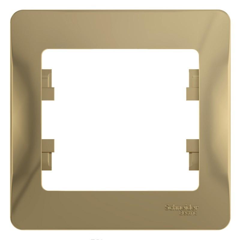 GLOSSA 1-постовая РАМКА, ТИТАН GSL000401 Schneider Electric