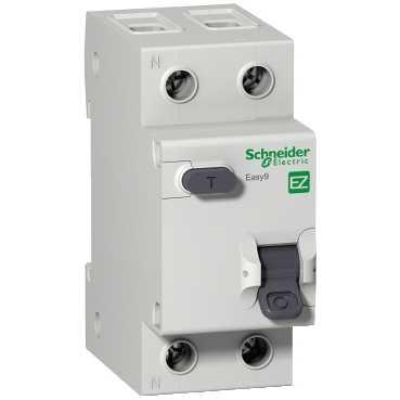 Дифавтомат EASY 9 1п+N 16А/30мА  AC C 4,5кА EZ9D34616 Schneider Electric