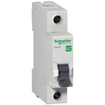 Автоматический выключатель EASY 9 1п 25А С 4,5кА EZ9F34125 Schneider Electric