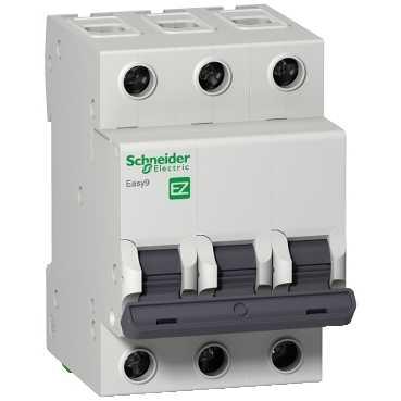 Автоматический выключатель EASY 9 3п 16А С 4,5кА EZ9F34316 Schneider Electric