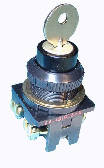 Выключатель кнопочный с ключом ПЕ 171/2  Электротехнический завод Эльком