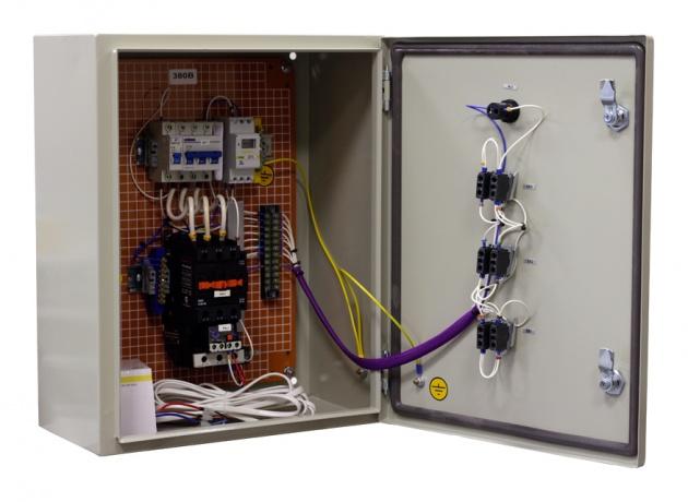 Ящик управления освещением ЯУО 9601-3474 IP54 (25А,ФР+РВМ)  SUO9601-3401 Texenergo