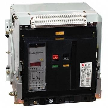 Автоматический выключатель ВА-45 2000/1600А 3P 50кА выкатной EKF mccb45-2000-1600v EKF