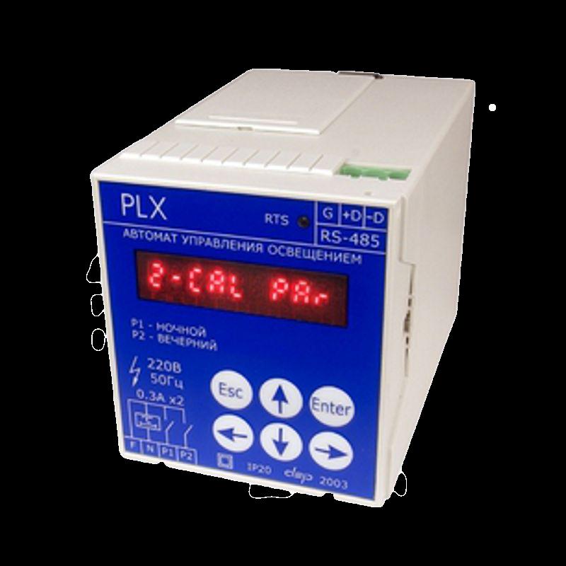 Контроллер управления освещением Деконт PLX контроль времени по 2-м каналам 502b119 DEP