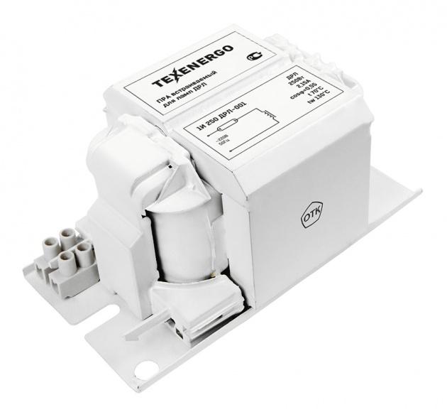 Дроссель 1И250ДРЛ встраиваемый (ПРА) Texenergo 1B250HP Texenergo