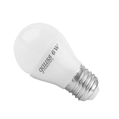 Лампа Gauss Elementary светодиодная шар 6W E27 2700K LD53216 Gauss