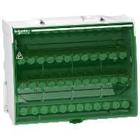 Распределительный блок Linergy DS Винтовой 4 полюса 125А 48 отверстий LGY412548 Schneider Electric