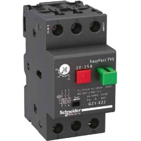 Автоматический выключатель GZ1E 4-6,3A GZ1E10 Schneider Electric