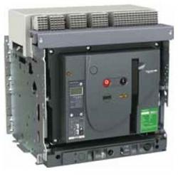 Авт.выкл. EasyPact MVS 1000A 3P 50кА эл.расц. ET2I выдв. с эл.приводом MVS10N3NW2L Schneider Electric