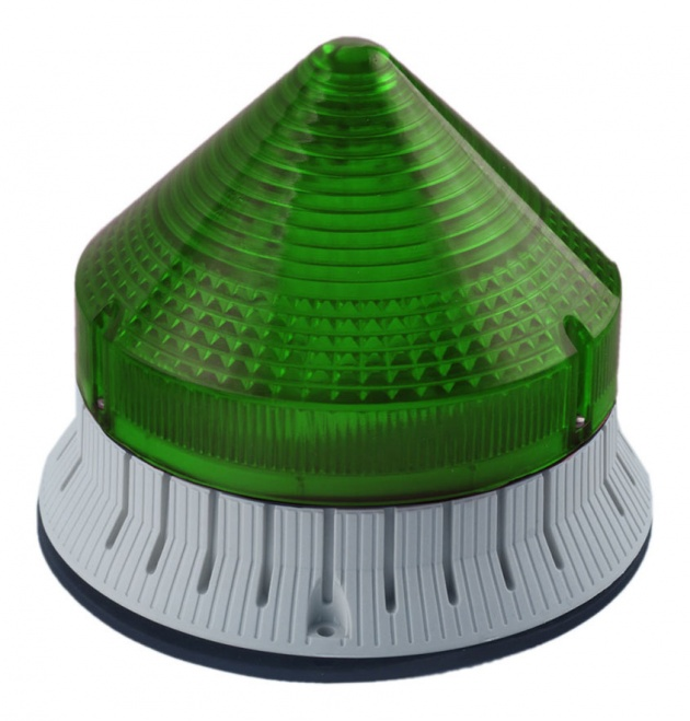 Маяк мигающий CTL600LMT зеленый 12/24/48Впост.ток IP54 (33524) CTL600LMT1248D4 Sirena