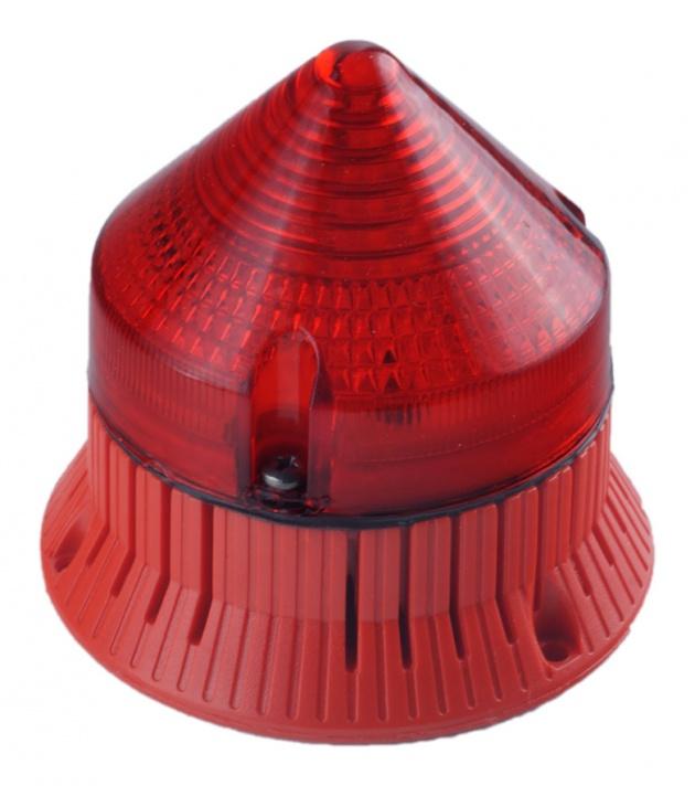 Светозвуковой мигающий сигнал CTLA600FCL240A3 красный 240В IP30 (33703) CTLA600FCL240A3 Sirena