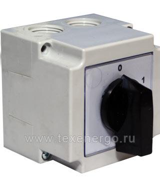 Пакетный выключатель 4G10- 90-PK закрытое исп. PG2-010-90 Apator