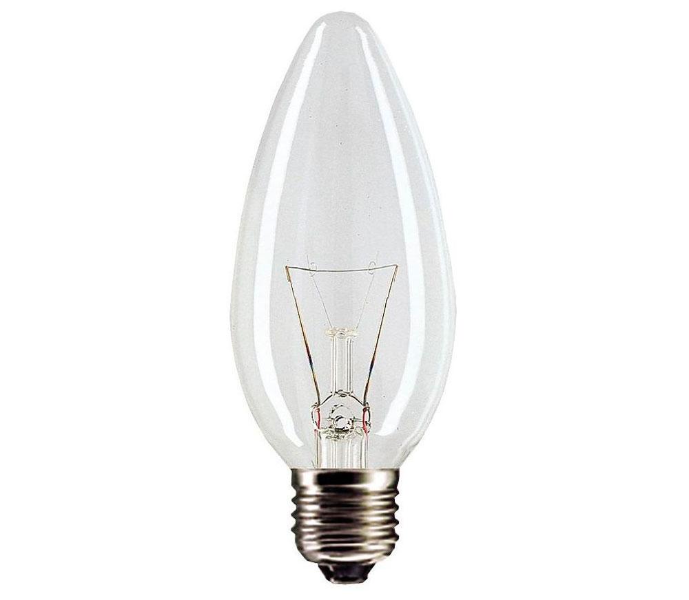 Лампа свеча ДС 230 40Вт Е-14 Лисма  Лисма