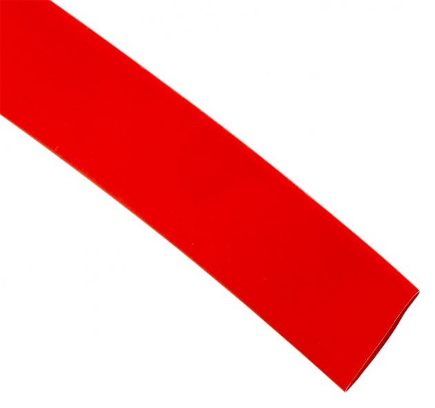 Термоусаживаемая трубка ТУТ 80/40 красная (по 1м) TT80-1-K04 Texenergo