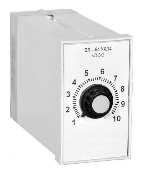 Реле времени ВЛ64 220В 50Гц 0,1-1мин.  Украина