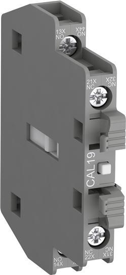Блок контактный CAL19-11 боковой 1HO1НЗ для контакторов АF116-АF370 1SFN010820R1011 ABB