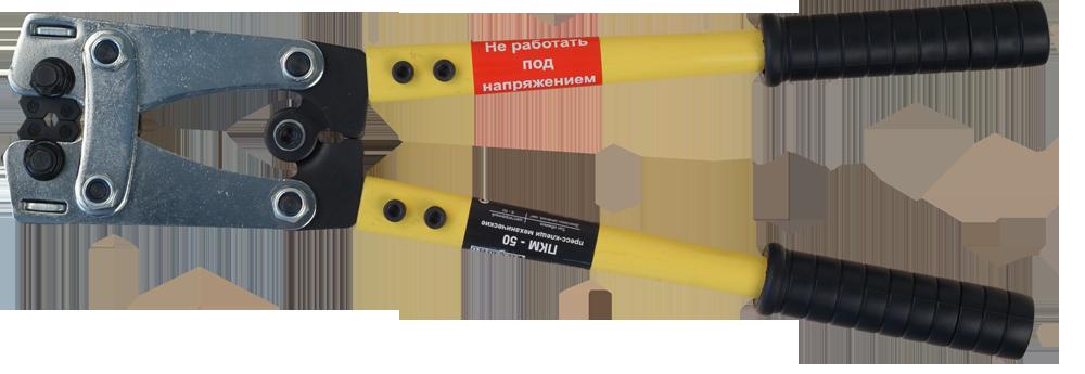 Пресс-клещи ПКМ-50 6-50 кв.мм, 6-гранный обжим TPKM6-050 Texenergo