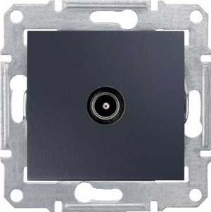 TV коннектор оконечный, графит SDN3201670 Schneider Electric